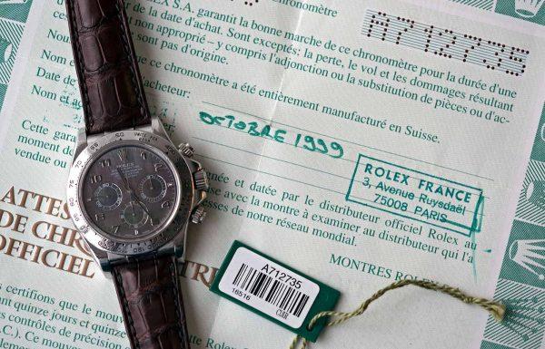 רולקס דייטונה זניט פלטינה הופך לשעון הרולקס המודרני היקר ביותר אי פעם