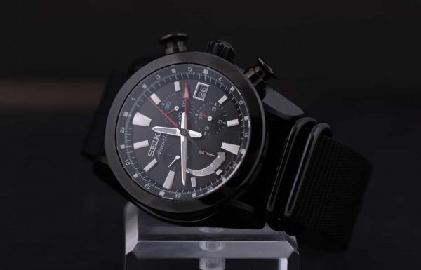 שבוע על היד – סייקו אננטה כרונוגרף GMT ספרינג דרייב SPS009J1