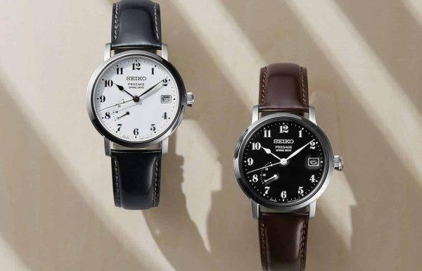 זוג שעונים חדשים בסדרת הפרסיג' של סייקו – הפעם עם מנגנון ספרינג דרייב