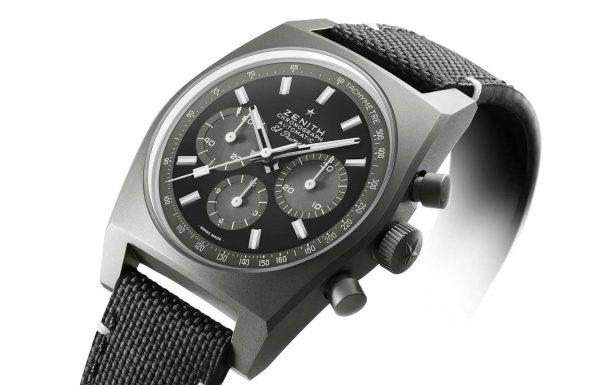 """ואם בא לי בשחור? זניט מציגה את שעון ה-""""A384 Revival """"Shadow"""