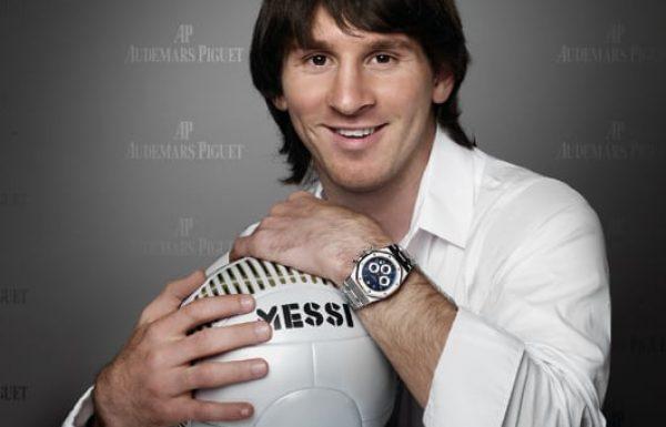 השעונים של כוכבי הכדורגל הגדולים בעולם