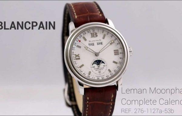 בלאנפן למאן מון פייז טריפל קלנדר Blancpain Leman Moonphase Triple Calendar Automatic