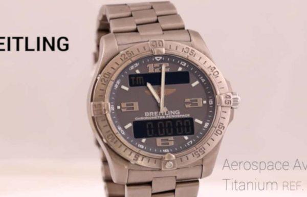 ברייטלינג אירוספייס אוונטאג' טיטניום Breitling Aerospace Avantage Titanium E79362