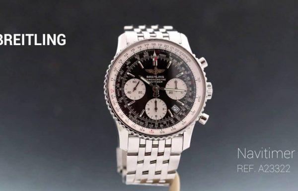 ברייטלינג נויטיימר פלדה Breitling Navitimer Steel A2322