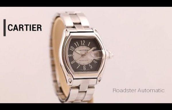 קרטייה רודסטר פלדה אוטומטי רפרנס 2510 Cartier Roadster Steel Automatic Re
