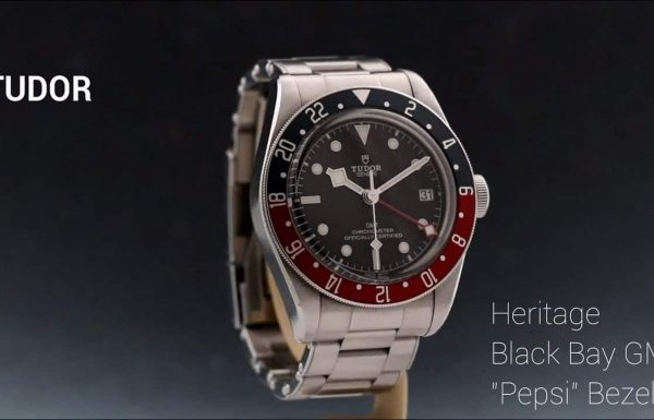 טודור בלאק ביי GMT פפסי Tudor Black Bay Heritage GMT Pepsi 79830RB