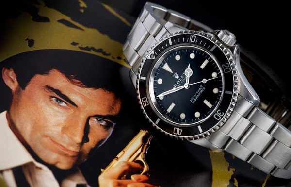 """שעון הרולקס סאבמרינר של ג'יימס בונד מהסרט """"רישיון להרוג"""" מוצע למכירה"""