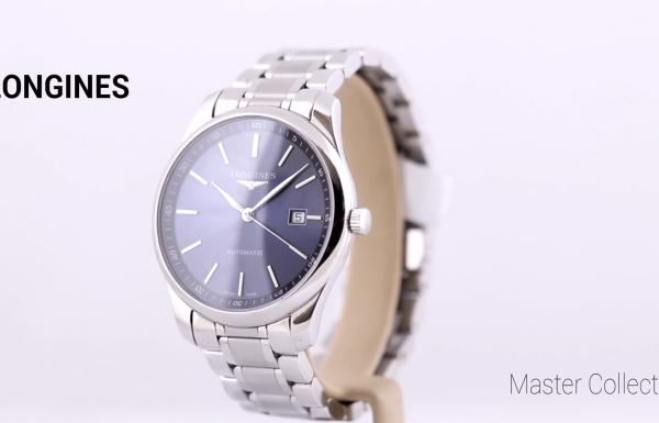 לונג'ין מאסטר קולקשן לוח כחול – Longines Master Collection Blue dial