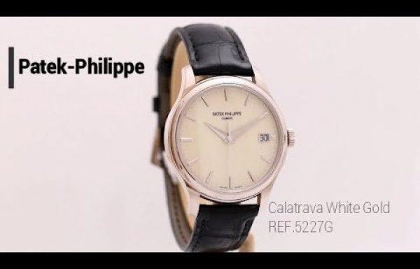 פטק פיליפ קלטרבה זהב לבן – Patek Philippe Calatrava White Gold 5227G