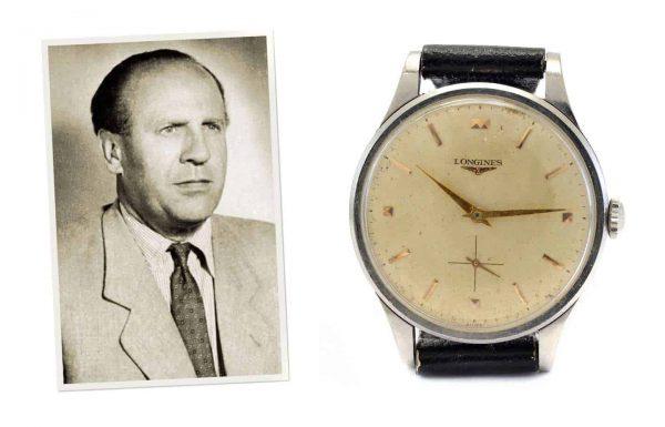 שעון הלונג'ין של אוסקר שינדלר מוצע למכירה פומבית