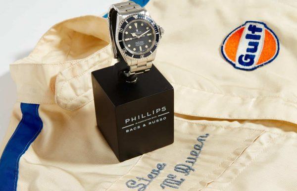 שעון רולקס של סטיב מקווין יוצע למכירה באוקטובר