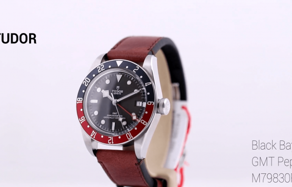 "טודור בלאק ביי ""פפסי"" Tudor Black Bay GMT ""Pepsi"" M79830RB"