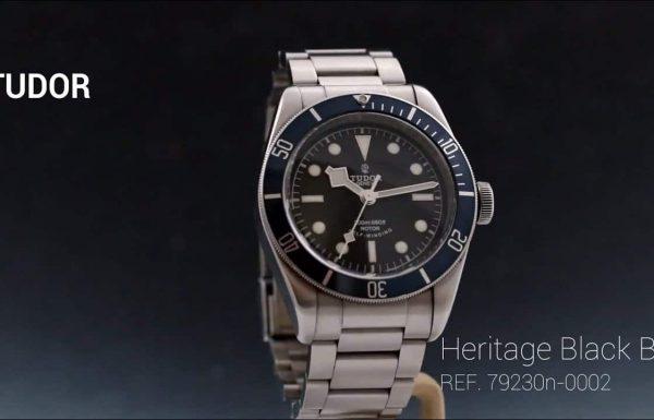 טודור הריטג' בלאק ביי כחול Tudor Heritage Black Bay Blue Dial 79220B