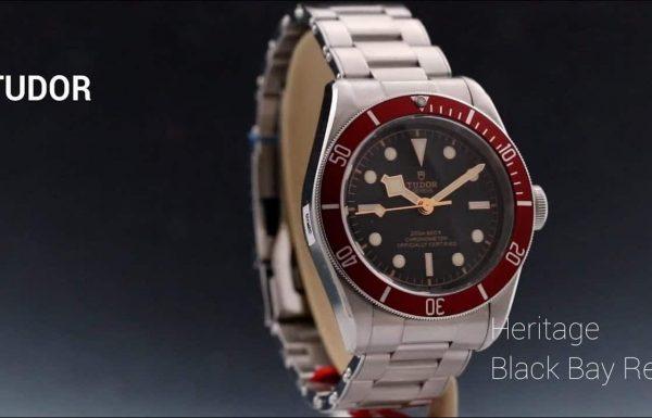 טודור האריטג' בלאק ביי לוח אדום Tudor Heritage Black Bay Blue Dial 79230