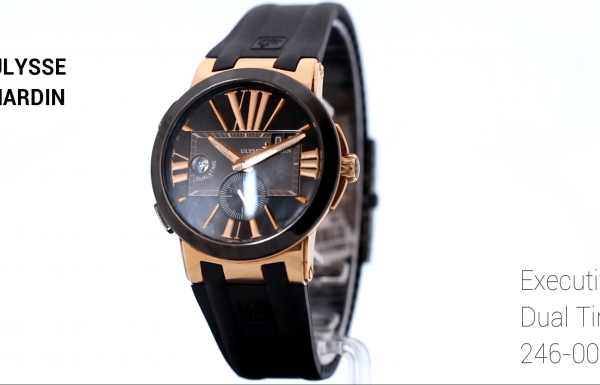 יוליס נרדין אקזקיוטיב דואל טיים 246-00 Ulysse Nardin Executive Dual Time