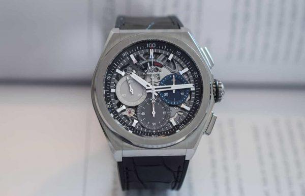 זניט דפיי – שעון הספורט-אלגנט הראשון בהיסטוריה?
